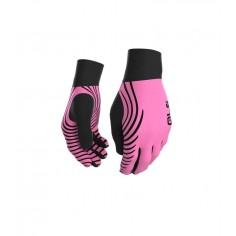 Guantes de Invierno Alé negro/rosa fluo OI16