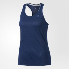 Camiseta tirantes Adidas Supernova w azul oscuro