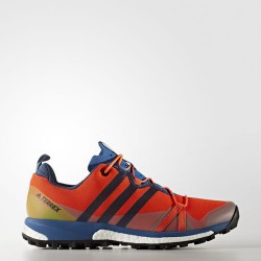 Zapatilla Adidas trail Terrex Agravic rojo/azul/negro m PV17