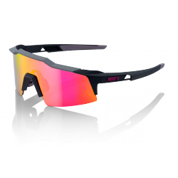 Gafas 100% Speedcraft Graphite SL Lente Espejo Morada (Purple Mirror)