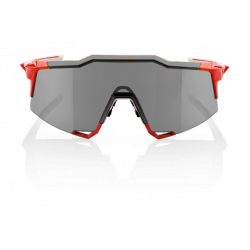 Gafas 100% Speedcraft LL Fire Red / Lente Espejo gris (Smoke Lens)