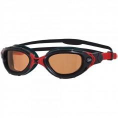 Gafas de natación Zoggs Predator Flex Polarizadas Ultra Negro/Rojo 2017
