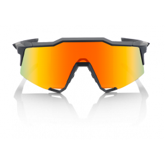 Gafas 100% Speedcraft Soft Tact Black LL (Lente espejo rojo HD Multilayer)