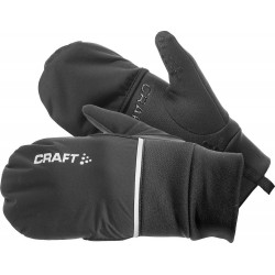 Guantes Hybrid Weather negro Craft