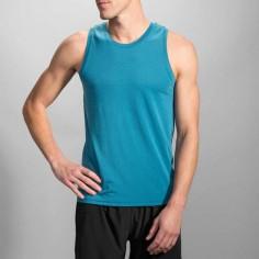 Camiseta Tirantes Brooks Distance Tank PV16 Azul Hombre