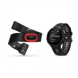 Garmin Forerunner 735 XT Run Bundle negro