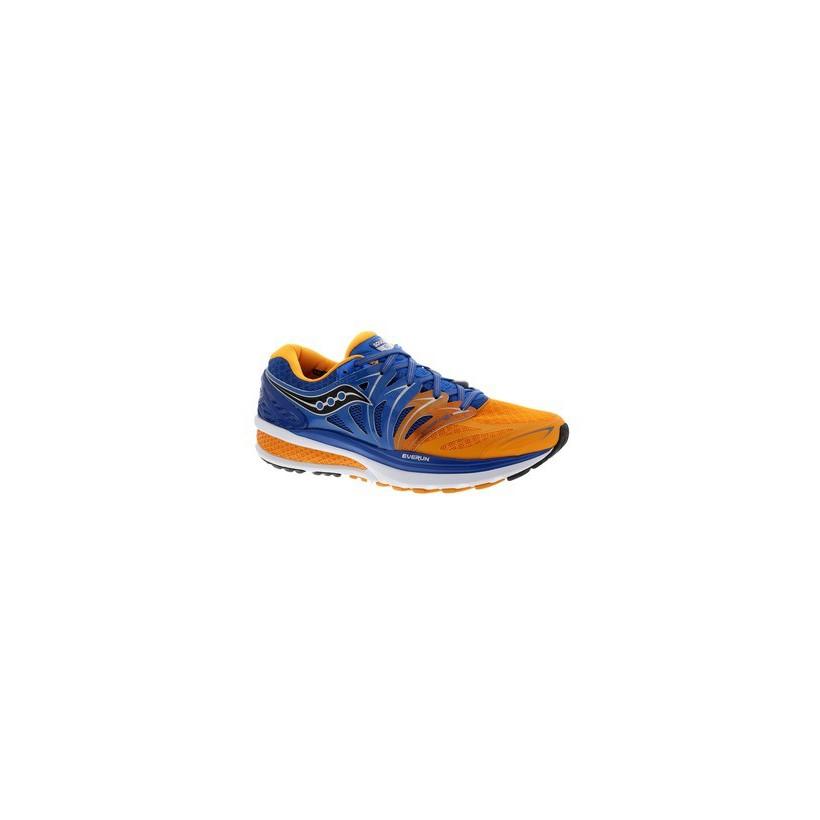 Zapatilla Saucony Hurricane ISO 2 OI16 azul/naranja