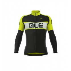 Maillot Alé Excel Weddell Negro Amarillo Fluo