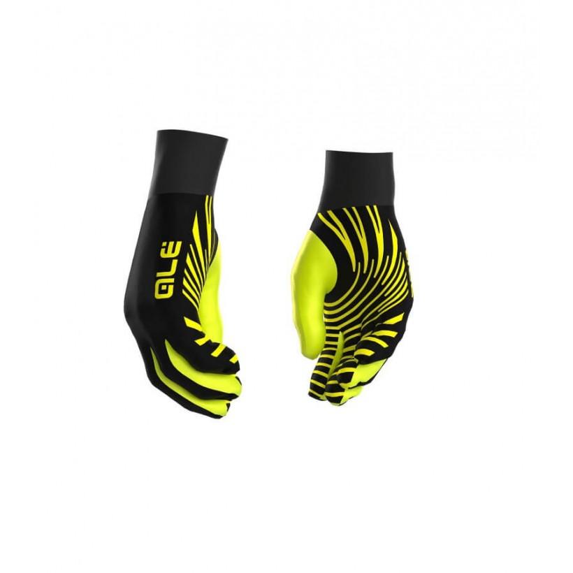 Guantes de Invierno Alé negro/amarillo fluo OI16