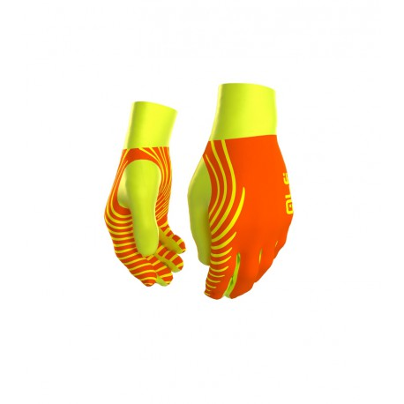 Guantes de Invierno Alé naranja/amarillo fluo OI16