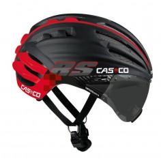 Cas Co Aero Speedairo RS Color Negro Rojo con visor fotocromático
