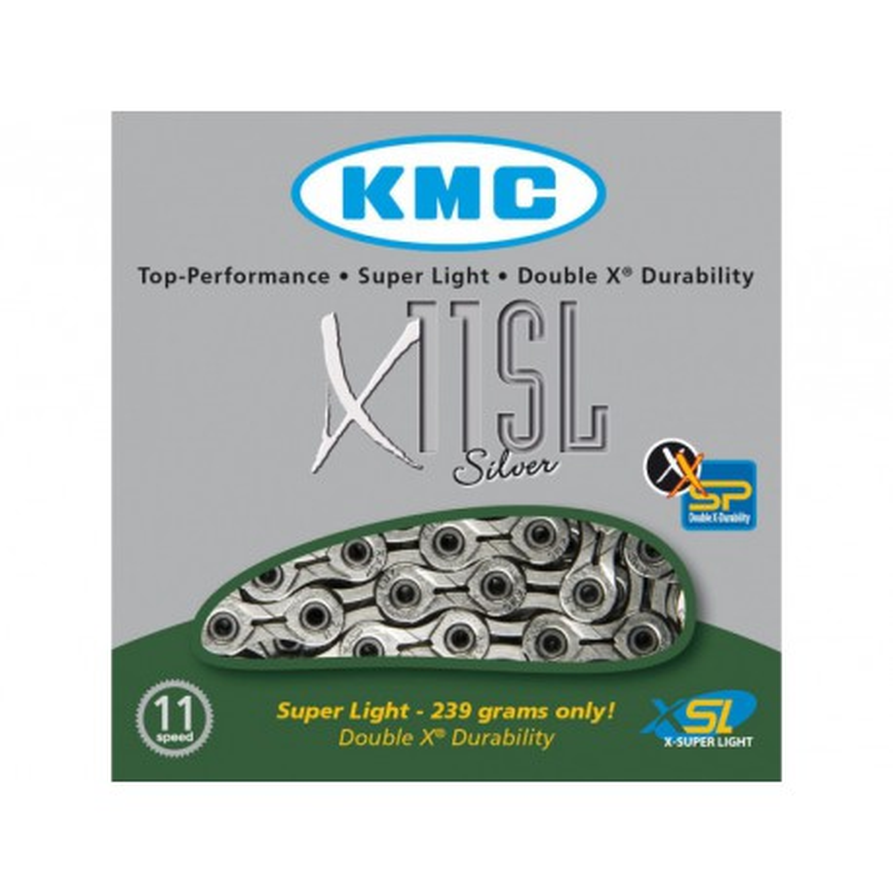 Cadena KMC X11-93 11 velocidades Silver/Grey