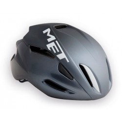 Casco Aero MET Manta Gris mate/brillo 2017