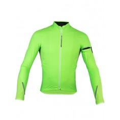 Chaqueta Q36.5 Long Sleeve Hybrid Que Verde Fluo