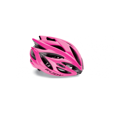 Casco Rudy Project Rush Pink Fluo Brillante