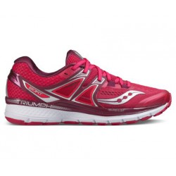 Saucony Triumph ISO 3 PV17 Mujer Rojo