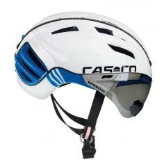 Casco Cas Co SPEEDster TC Plus Blanco Azul