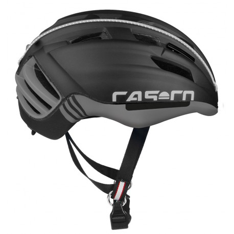Casco Cas Co SPEEDster sin visor Negro Antracita