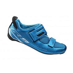 Zapatillas Triatlón Shimano TR900 Azul con suela de Carbono