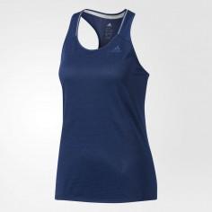 Camiseta tirantes Adidas Supernova Mujer azul oscuro