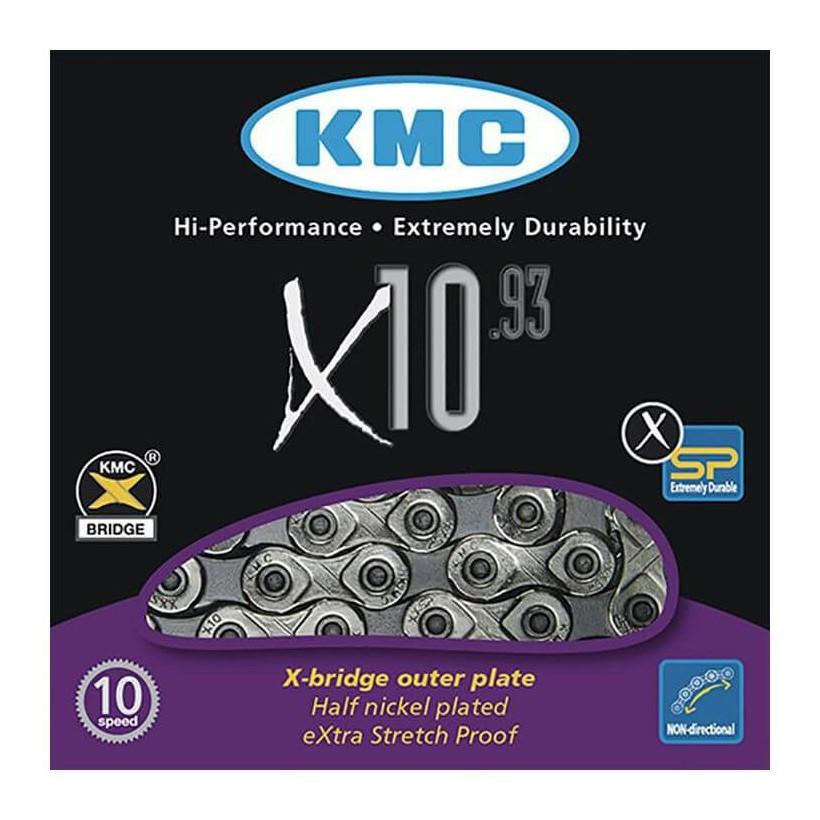Cadena KMC X10.93 de 10 velocidades
