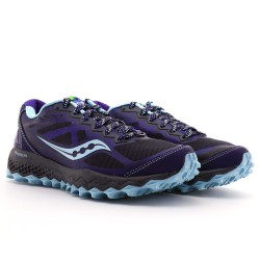 Zapatillas Saucony Peregrine 6 azul OI16 mujer