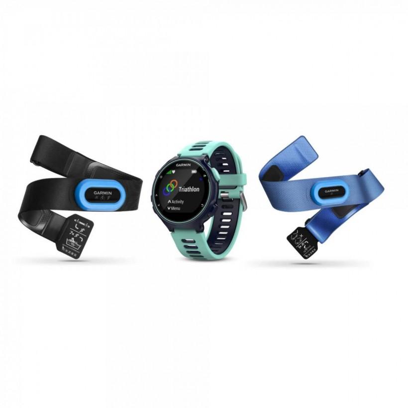 Garmin Forerunner 735 XT Tri Bundle azul