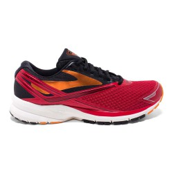Brooks Launch 4 Rojo/Negro PV17
