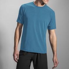 Camiseta m/c Distance Sleeve azul hombre Brooks