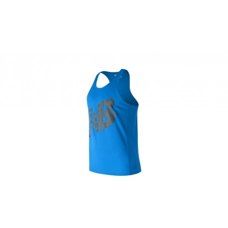 Camiseta New Balance Accelerate Competicion Graphic azul