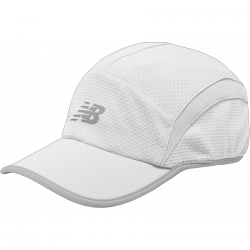 Gorra New Balance Performance blanca