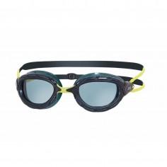 Gafas de natación Zoggs Predator Negro Amarillo