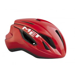 Casco Met Strale color rojo 2017