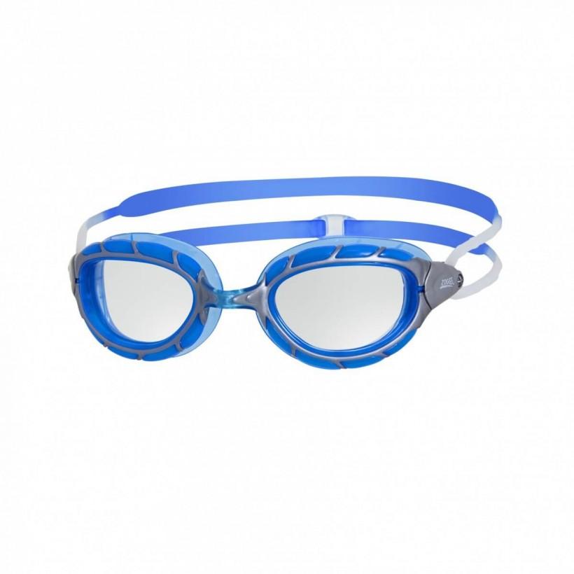 Gafas de natación Zoggs Predator gris/azul 2017