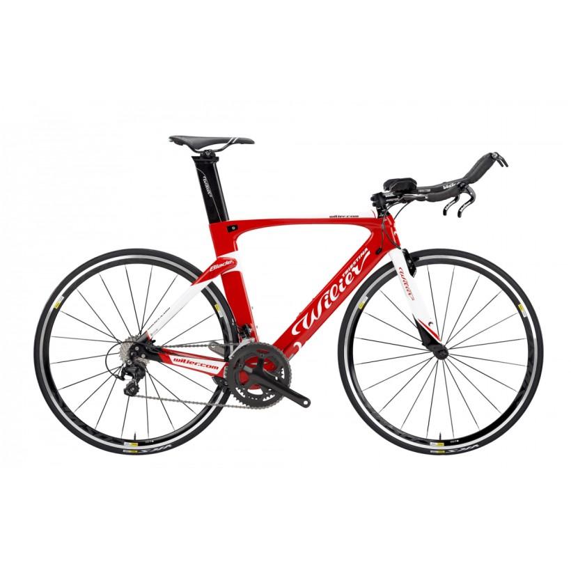 Bicicleta Wilier Blade Ultegra 11v -para Triatlón-Contrareloj