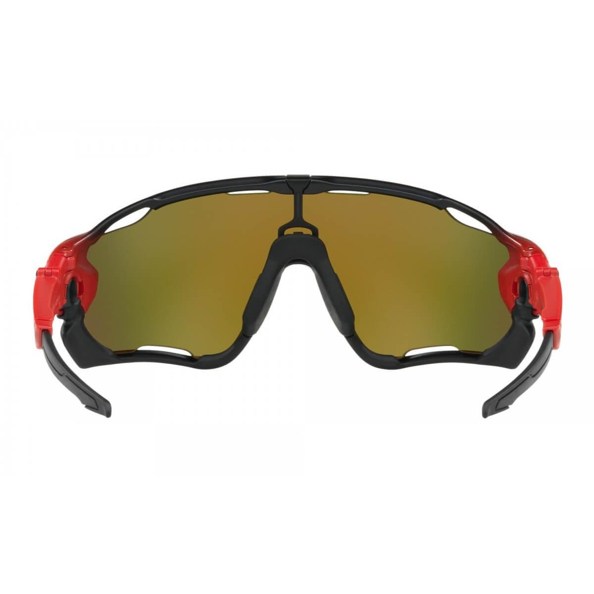 6c12de86808b3 Gafas ciclismo Oakley Jawbreaker Ruby Fade Lente Prizm Ruby - 365 Rider
