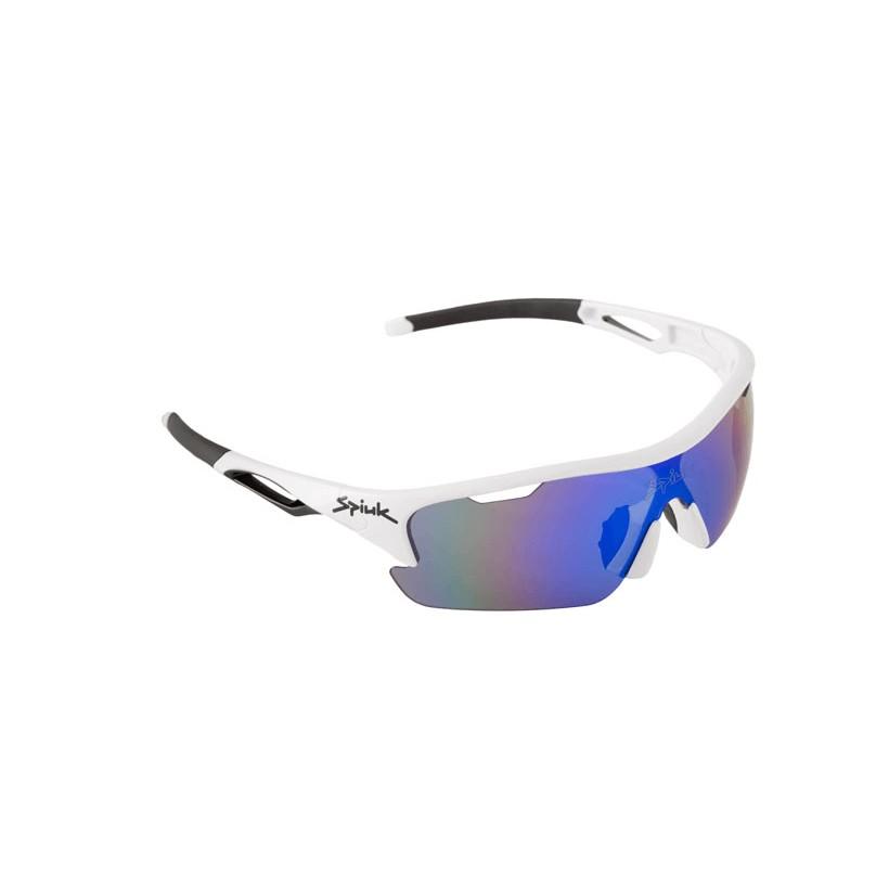 4a1fa3cf81 Precio reducido Gafas ciclismo Spiuk Jifter Blanco/negro Lentes de espejo  azul