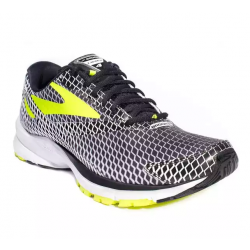 Brooks Launch 4 Edición Especial Blanco, negro y amarillo PV17