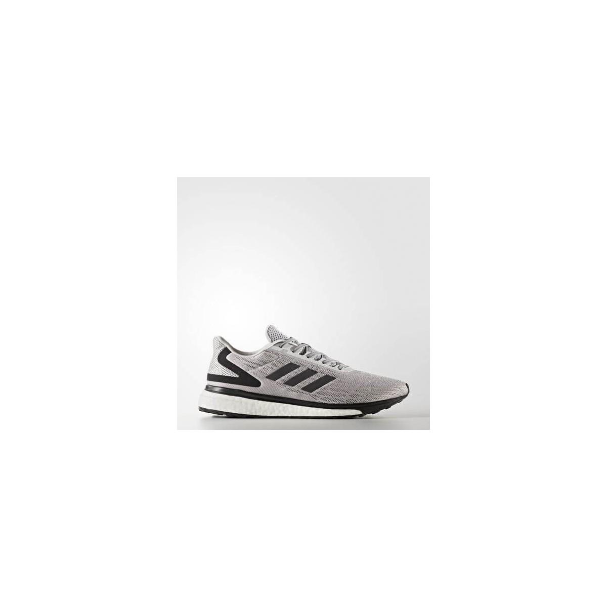 100% de alta calidad los Angeles marcas reconocidas Zapatilla Adidas Response Lite Hombre Gris y Negro OI17 ...
