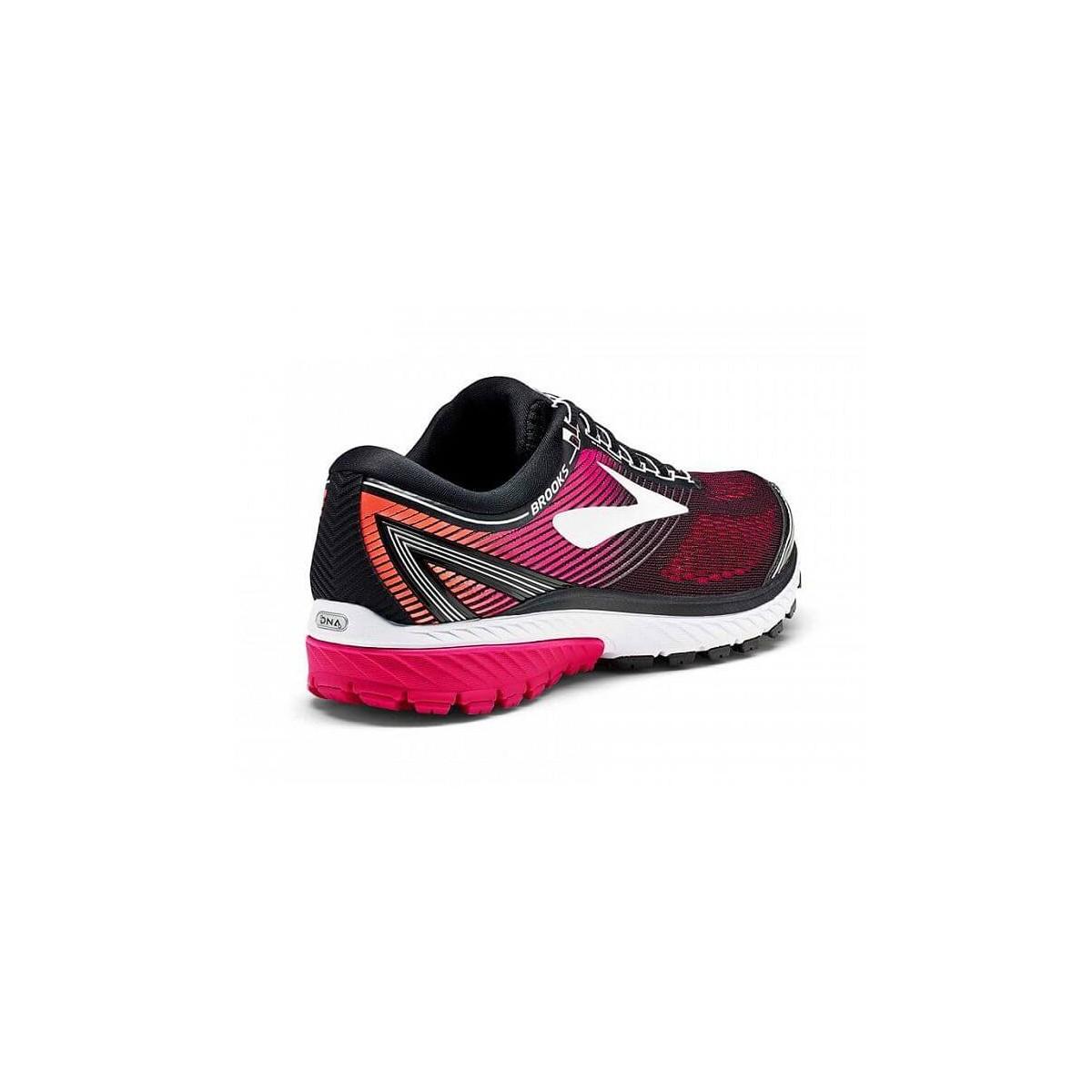 869e803bc1eb2 Zapatillas Running Brooks Ghost 10 color rosa y negro OI17 Mujer
