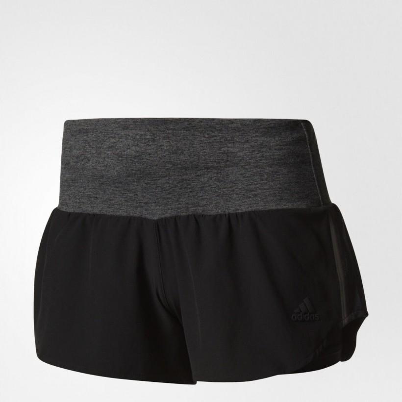 Pantalón corto Adidas Ultra Energy Mujer negro y gris OI17
