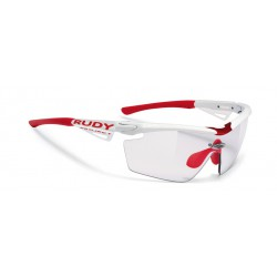 Gafas Genetyk Racing Pro White ImpactX Photochromic Clear Rudy Project