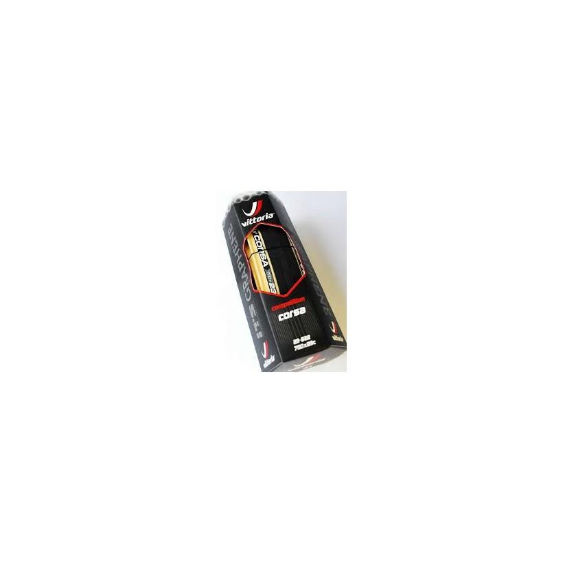 Cubierta Vittoria Open Corsa CX Graphene beige 700x23-25