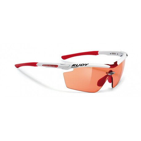 Gafas Genetyk Racing White ImpactX Photochromic Red Rudy Project