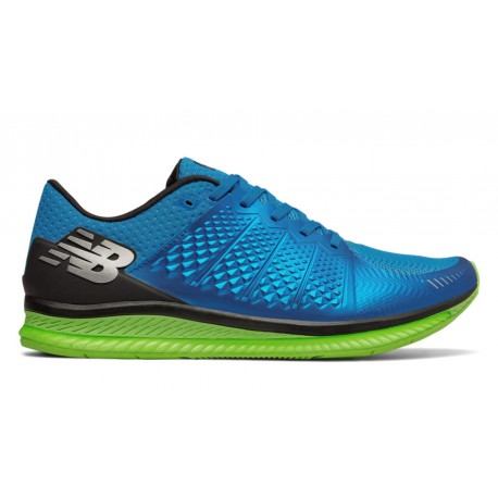 Zapatillas New Balance Vazee FuelCell Azul y Verde OI17