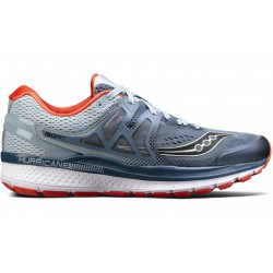 Saucony Hurricane ISO 3 Gris y naranja OI17 Hombre