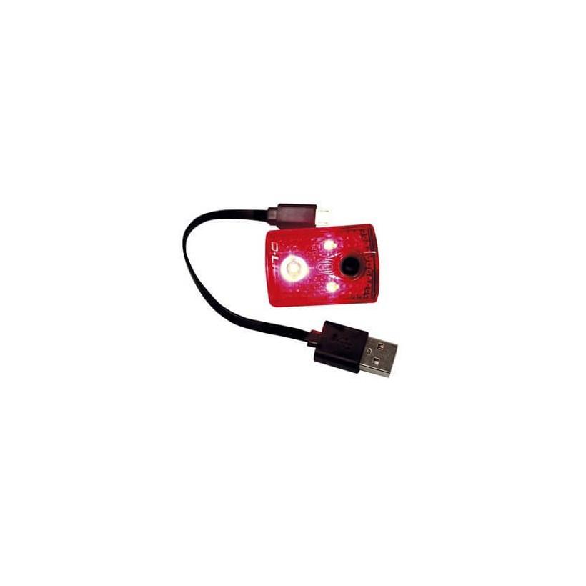 Luz trasera Chance 3 Leds 4 Funciones USB