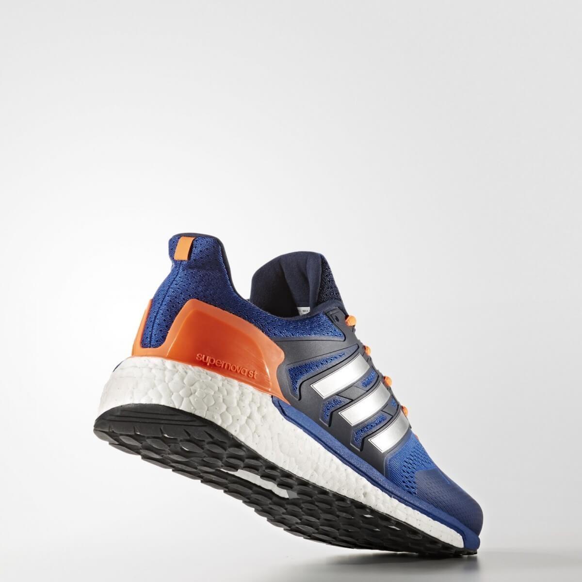Zapatillas Adidas Supernova ST azul y naranja OI17
