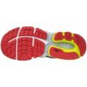 Zapatillas Mizuno Inspire 13 negro lima y rojo Hombre OI17