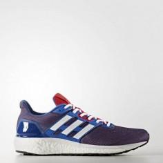 Zapatillas Adidas Supernova azul y rojo Hombre OI17